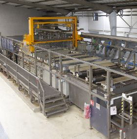 STS Industrie SA. Premium quality fully automatic electrolytic treatment Line - Hard Anodising