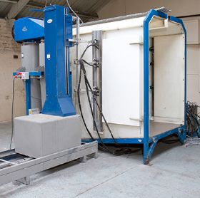 Nordson Online spray booth
