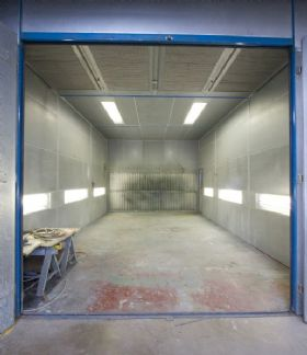 Burntwood Engineering Baking / Spray Booth