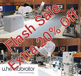 Wheelabrator Vibro Demonstration Bay Stock Clearance Phase One