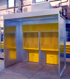 Modular Powder Booth