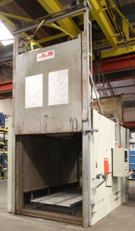 Natural Gas Fired Curing Oven