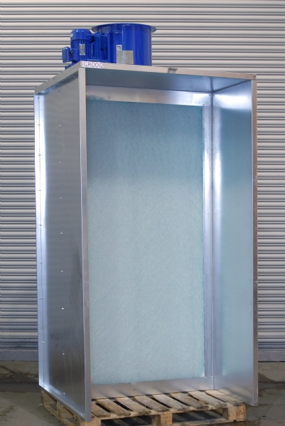 Dry Back Spray Booth