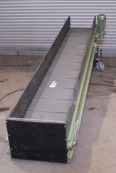 Rosler Inclined Flighted Conveyor