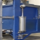 Aluminium Solution Treatments Oven Pneumatic Door Lift