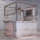 Aluminium Solution Treatments Oven Quench Tank - Work Frame Raised