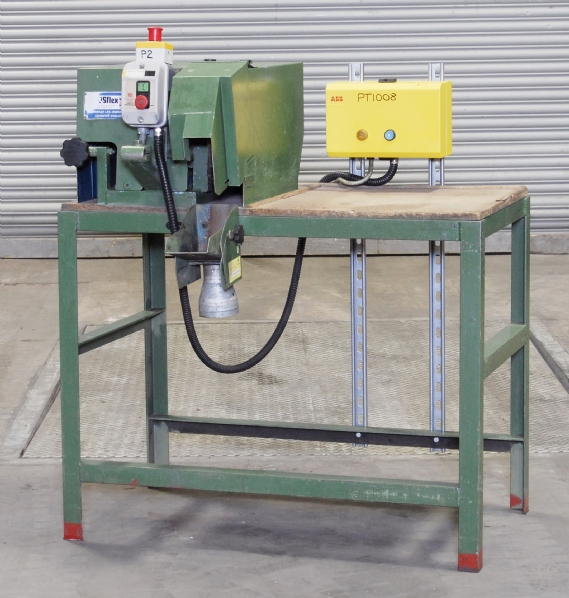 Model 1060 Bench Mounted Belt Linishing Machine