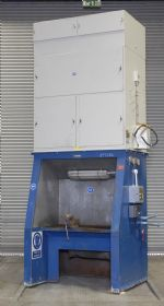 DCE Fettling Booth With DCE UMA 450 Dust Extractor