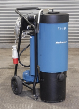Nederman P30 Mobile on Torch Vacuum System