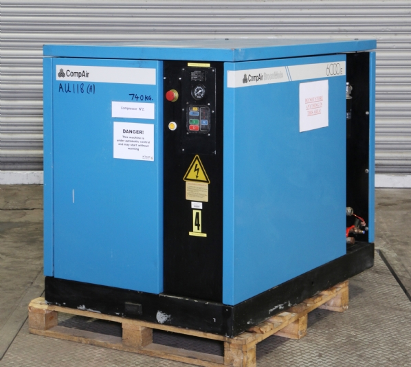 Compair 6040 E10as Screw Compressor