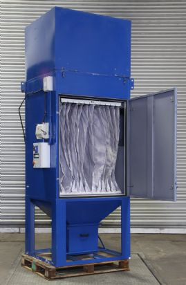 25M 5.5kw Dust Extraction Unit