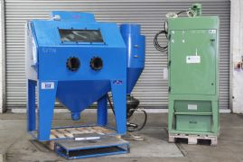 AFP1500 Pressure Feed Shot Blasting Machine