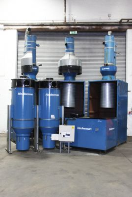 Nederman RBU 2100 Vacuum Extraction System