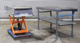 1000 KG hydraulic Scissor lift Table