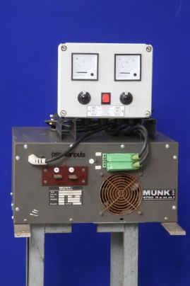 Thyristor Rectifier Controller Shown On Munk Rectifier
