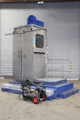 Stainless Steel Jet-wash Cabinet