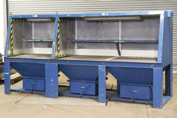 Nederman Dual Downdraft Extraction Bench