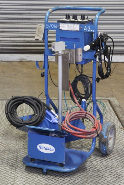 Nordson Versa-Spray II Powder Coating Station