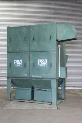 P&J Fercell FX 600 Twin Bucket Dust Extractor