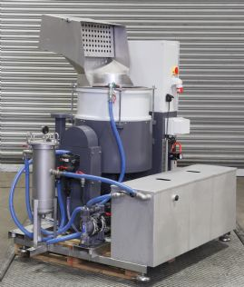 LDG 80 SU High Energy Centrifugal Disc Finishing System