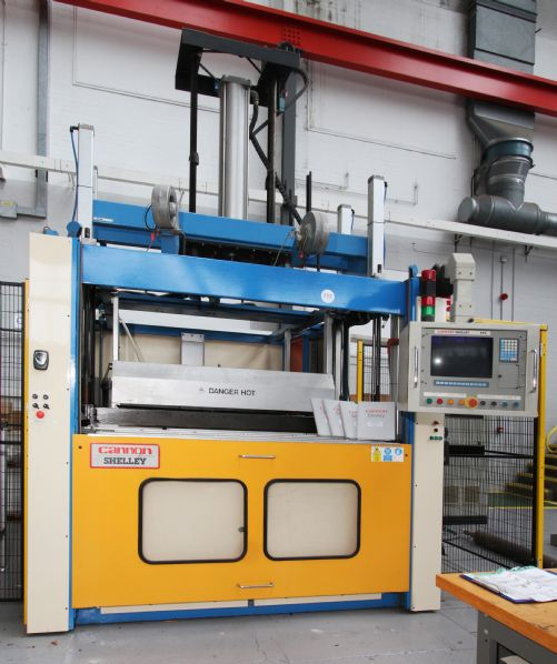 Cannon Shelley PF1510 Vacuum Forming Press
