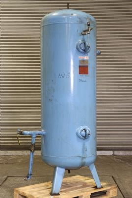 HPC Air Receiver: 880 litre capacity