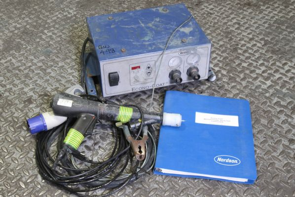 Nordson Econo-coat Powder Gun and Generator
