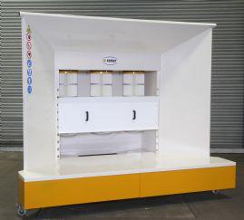 spray bake paint booth manual
