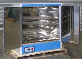 Heavy Duty Horizontal Oven Range with stainless steel interior