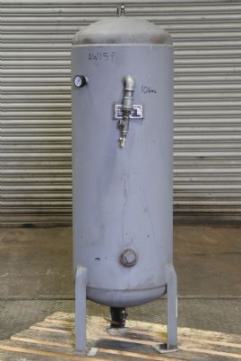 A J Metal Products Compressed Air Receiver