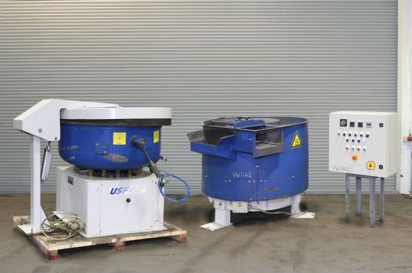 CD 300 & G 200 Vibratory Finishing Installation