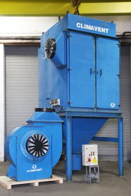 Climavent RPC 20/23.5 Reverse Jet Dust Collector