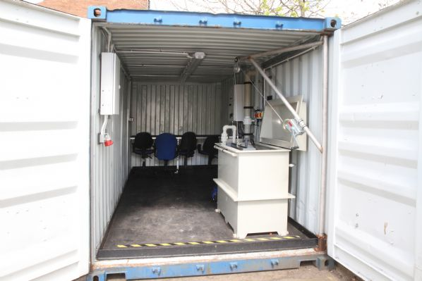 Kurion Containerised Gold Recovery Plating Out Cell