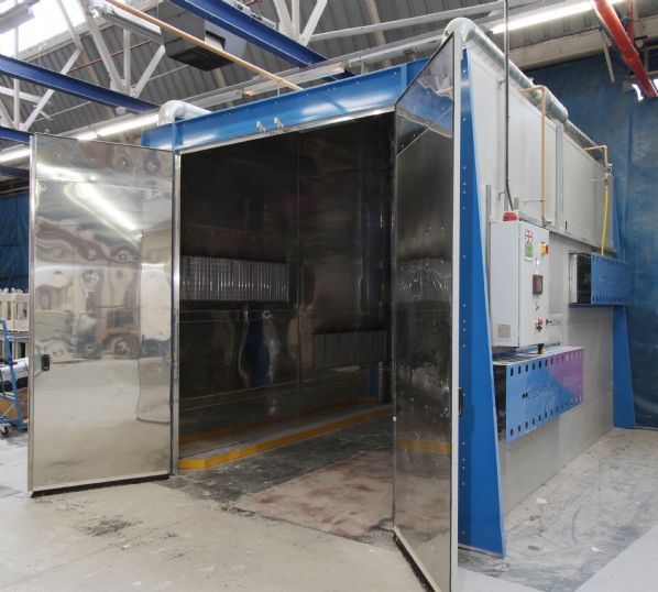 Protech Finishing Systems Infra Red Catalytic Curing Oven