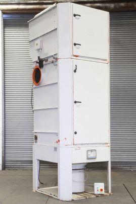 DCE Unicell C72-4K11 dust extractor, 7.5kW