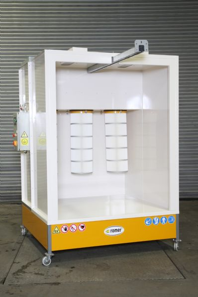 KPZ-3 Closed Face Manuall Powder Coating Booth