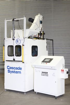 IEP Cacade Systems Deburring and Cleaning Machine