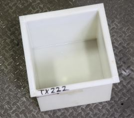Polypropylene Tank 300 x 300 x 300 mm
