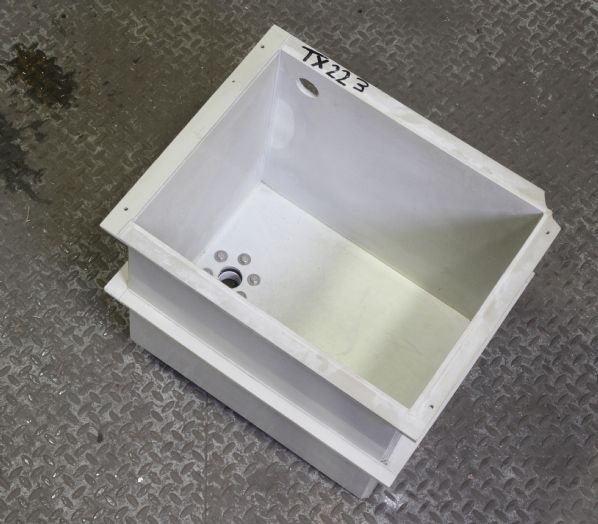 Polypropylene Tank 500 x 390 x 460 mm