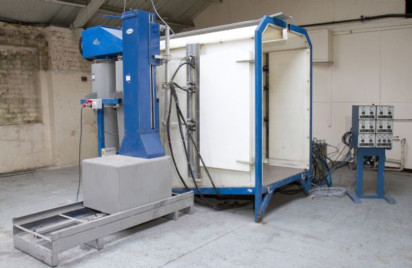 Nordson Econocoat Powder Coating Spray Booth And Guns