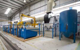 Plating Engineering Ltd 9 Station Stainless Steel Pre-Treatments Plant