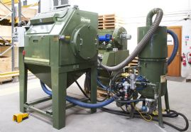 IND1250 Reciprocating Twin Gun Blasting Machine