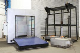 Caltherm Drying Oven Original Installation