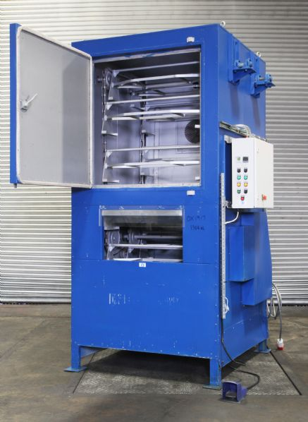 Industrial ovens ltd Vertical oven with carousel