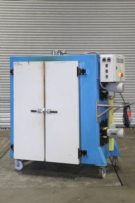 CES700 front loading mobile drying oven