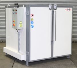 Romer 225°C Radiant Industrial Oven Range (1.5 x 1.5 x 1.5 model shown)