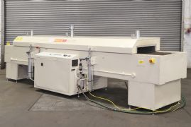 Forced circulation electrical heated conveyor oven