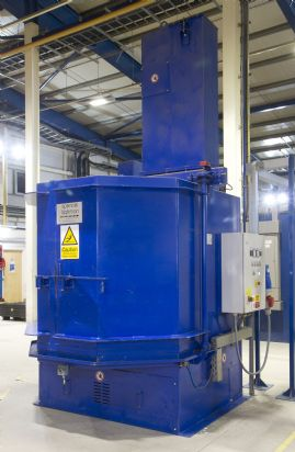 Wheelabrator RT 1500/2/1000 Shotblast