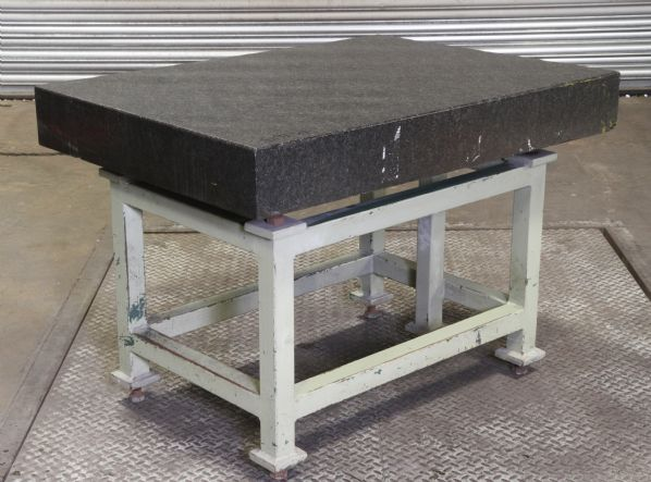 1m X 1.2m Granite surface table and stand