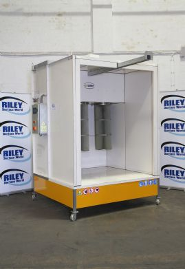 KPZ-3 Closed Face Manual Powder Coating Spray Booth